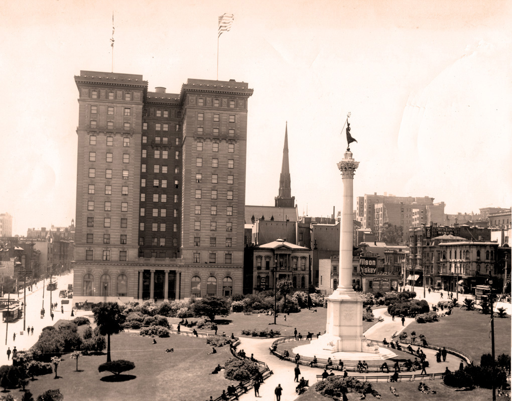 union square in 1905