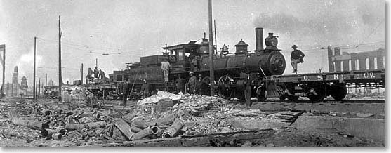 Ocean Shore Railroad Co. locomotive