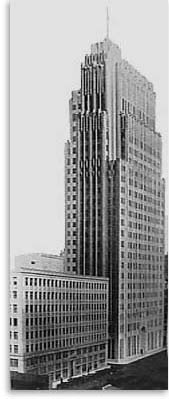 Photo of new Telephone Company Building at 140 New Montgomery Street