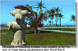 Greenberg hydrant on the island of Guam ©1997 Museum of the City of San Francisco
