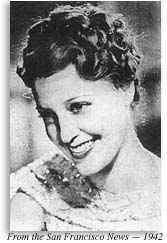 Photograph of Jeanette MacDonald in 1942