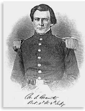 U.S. Grant as an army lieutenant