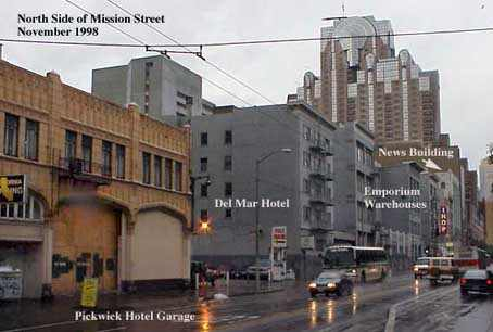 Mission bet. 4th and 5th streets as it looked in 1998