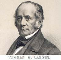 Photograph of Thomas Larkin