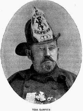 Photo of Tom Sawyer, volunteer San Francisco fireman