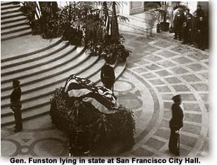 Gen. Funston Lying in State at SF City Hall