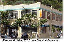 202 Green Street laboratory of Philo Farnsworth - where TV was invented