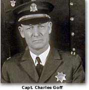 Photo of San Francisco police captain Charles Goff